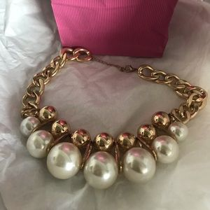 Jewelry - Large Pearls with gold inset pearls